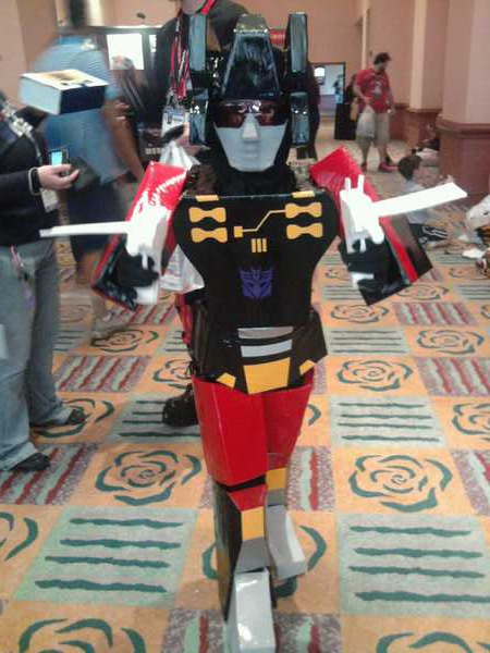 Frenzy makes his debut at Botcon 2010.