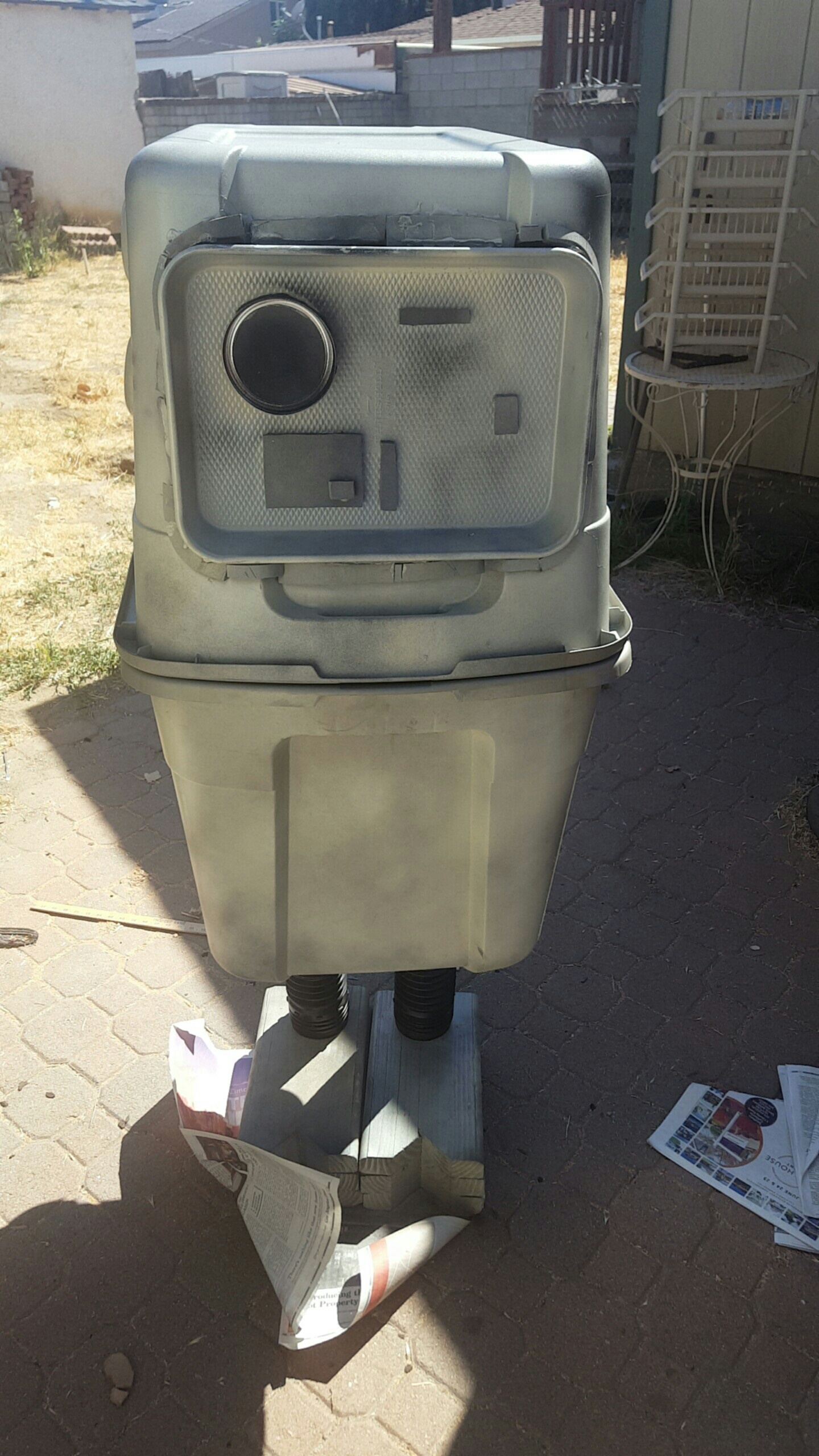 Gonk Droid Front View Rpf Costume And Prop Maker Community