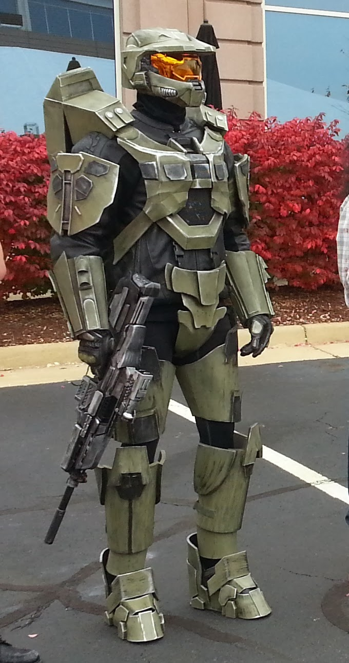 Halo 4 Master Chief - PartsandKrafts