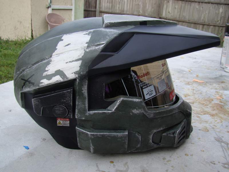 Halo Reach MKV A THis is a cast I made from my orginal, I made this helmet originally for a Halo fan film, I can make cast of this helmet if you are i