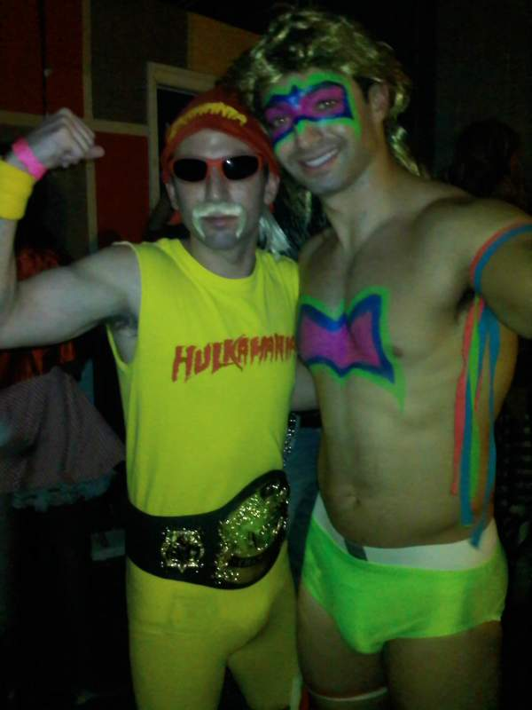 Hulk Hogan and The Ultimate Warrior