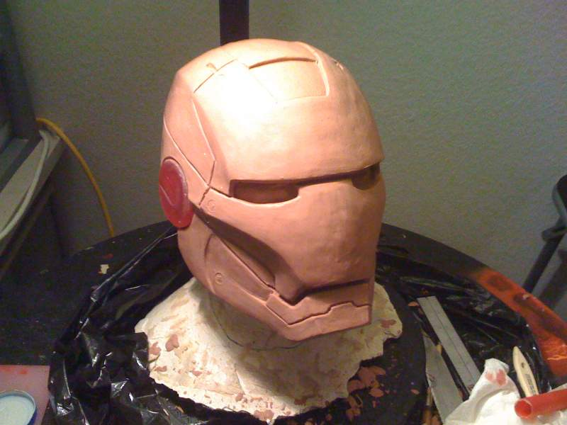 Iron Man sculpt 2008
