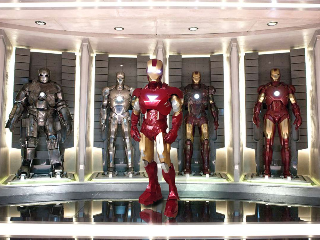 Iron Man Suit Wall
