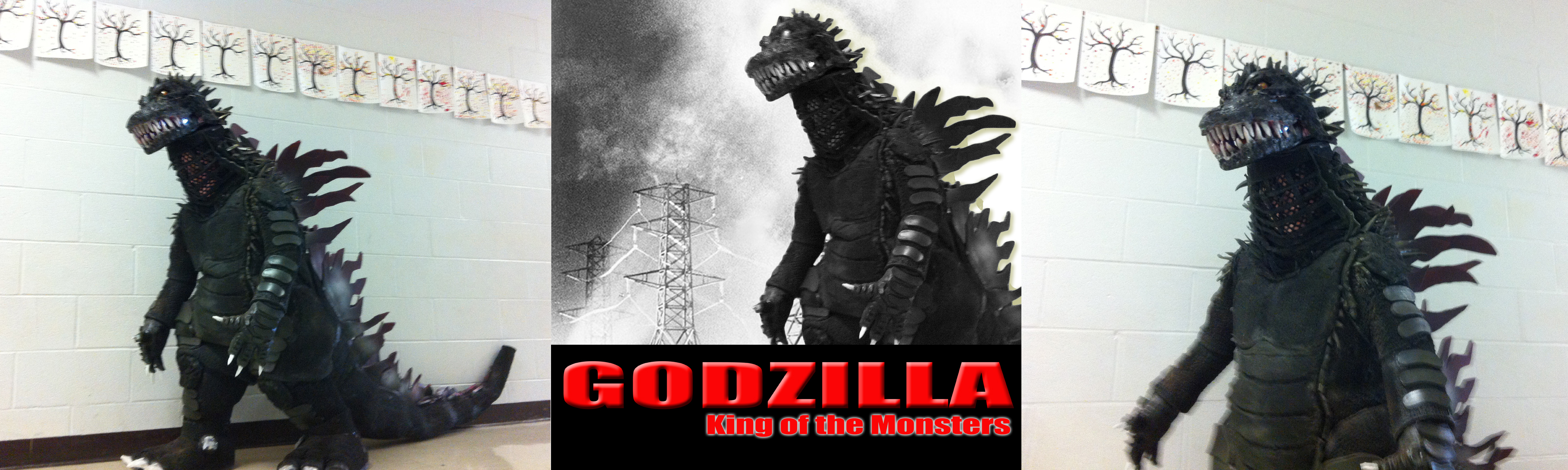 Judge_Hellfast's 2012 Halloween Costume Contest -GODZILLA, King of the MONS