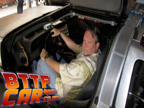 Kevin Pike Back to the Future Delorean Time Machine Hire