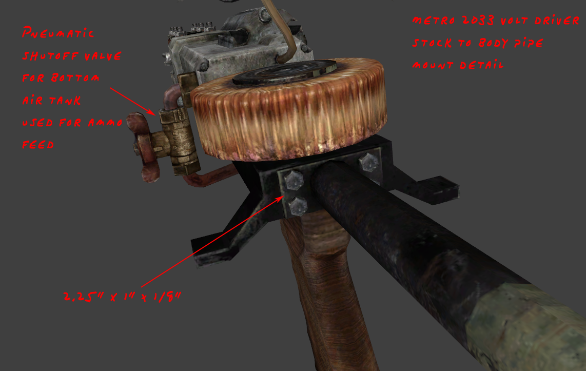 Metro 2033: Volt Driver reference images