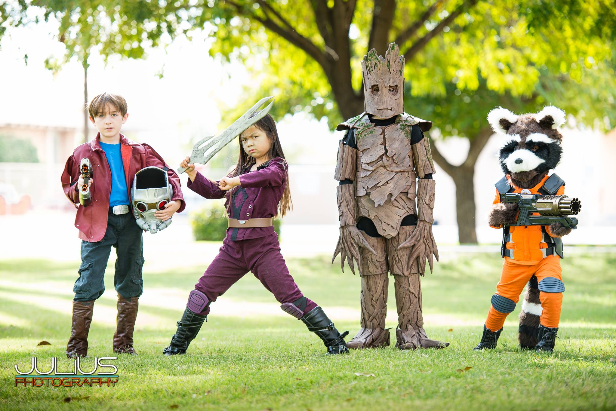 Mini Guardians of the Galaxy