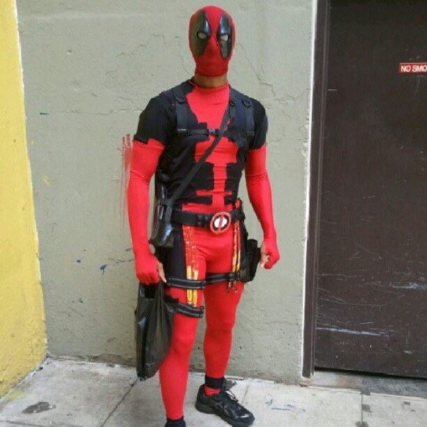 My custom made Deadpool. Made myself.