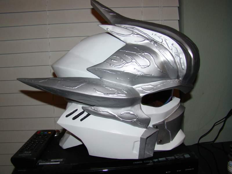 Try These Halo Hayabusa Motorcycle Helmet {Mahindra Racing}