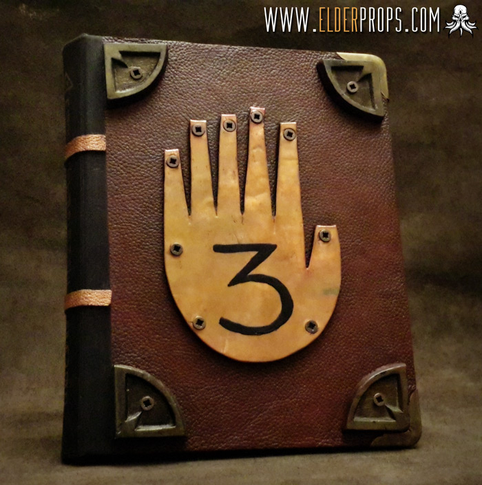 My Journal 3 replica from Gravity Falls