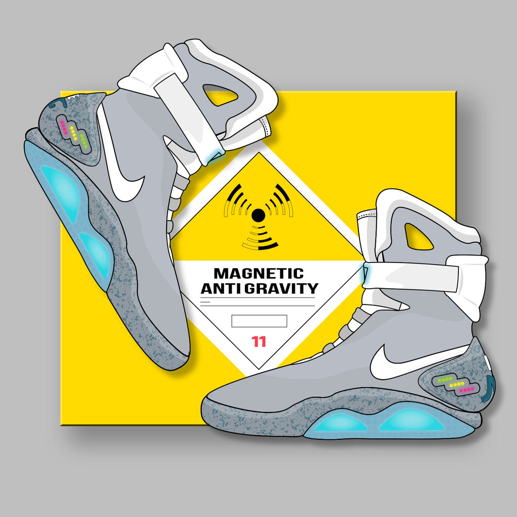 Nike Air Mag X Back To The Future By Bgreathouse312 D828kxo