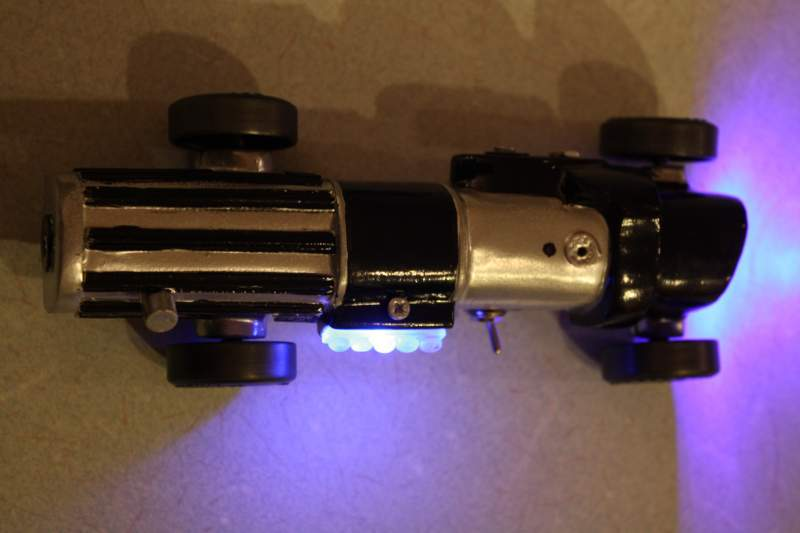 Pinewood Derby Light Saber