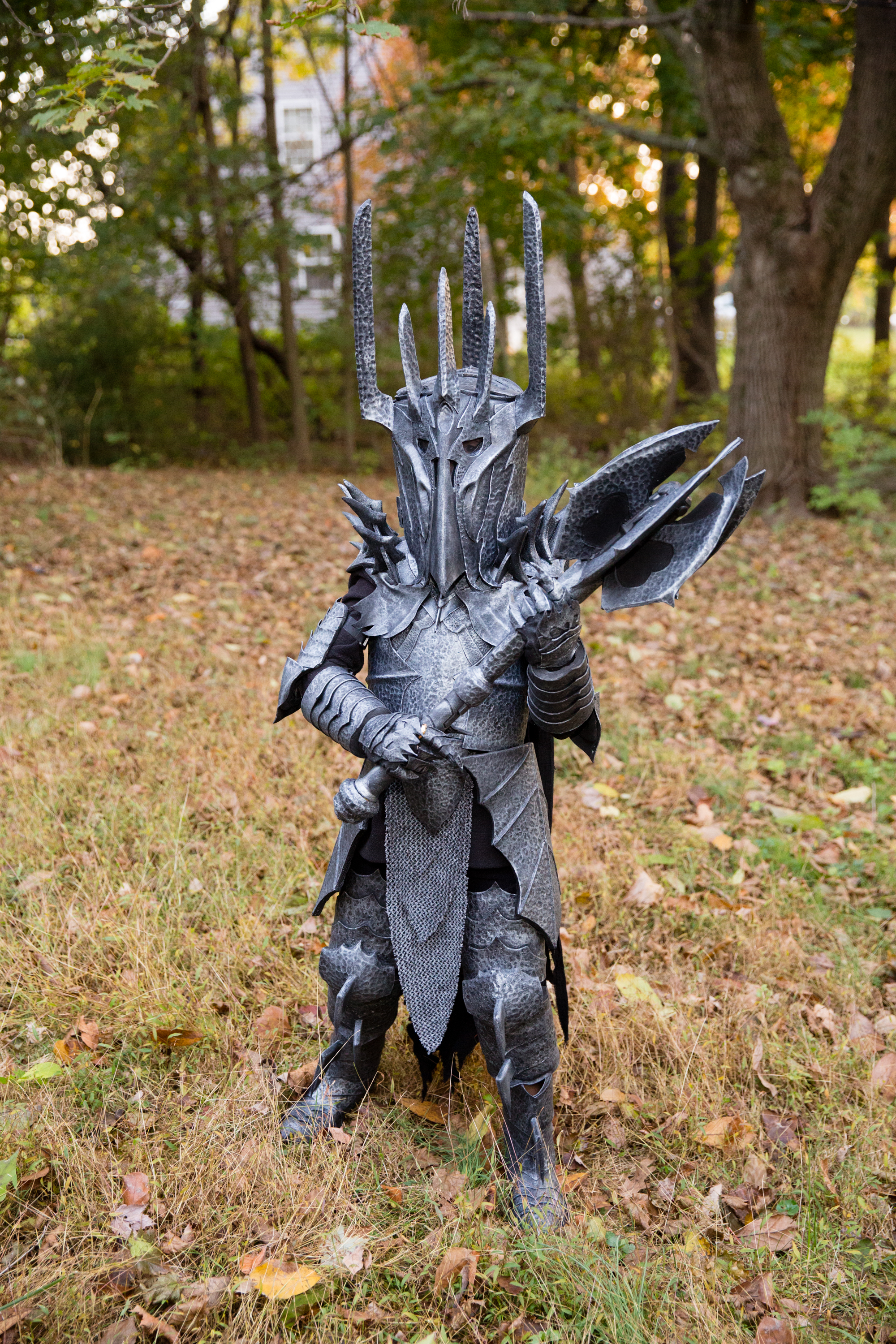 Sauron Costume Full View