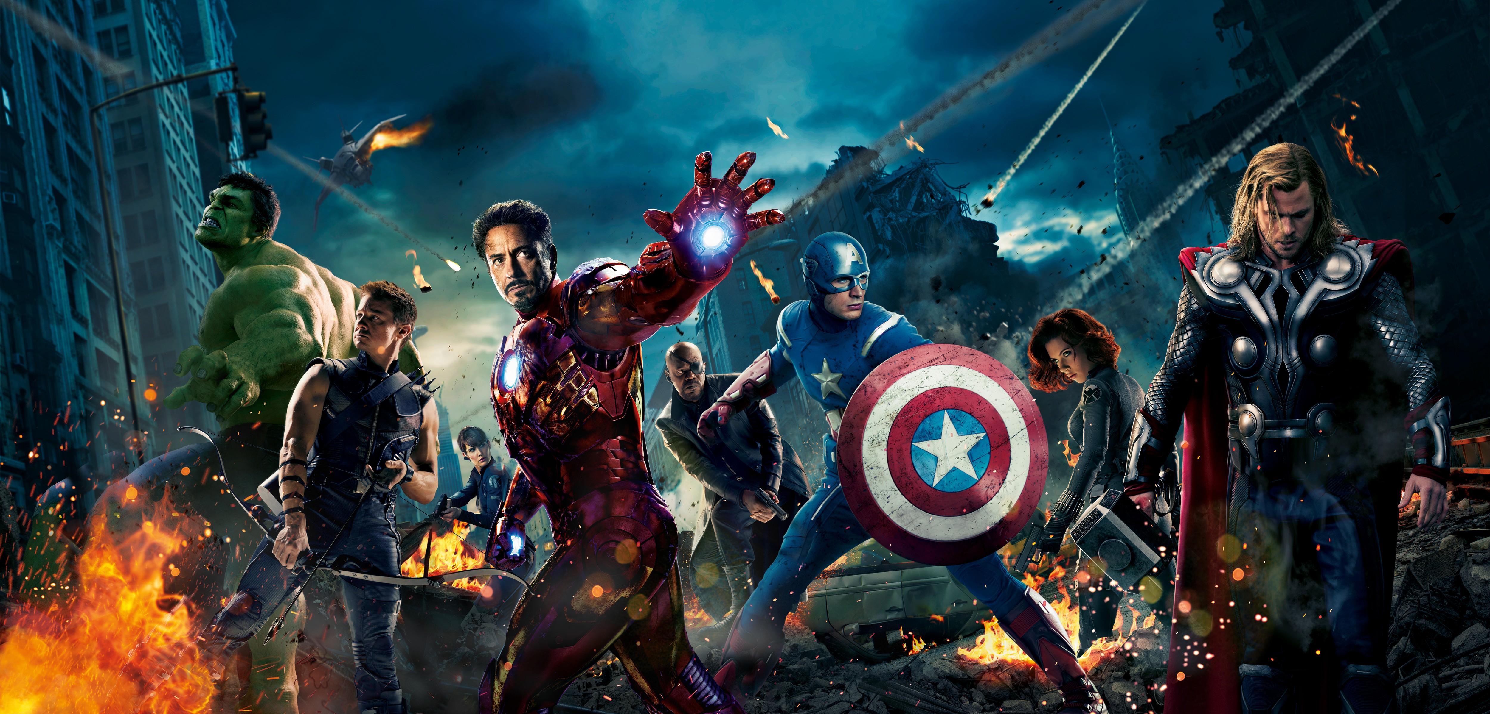 пустой постер мстителей каждого