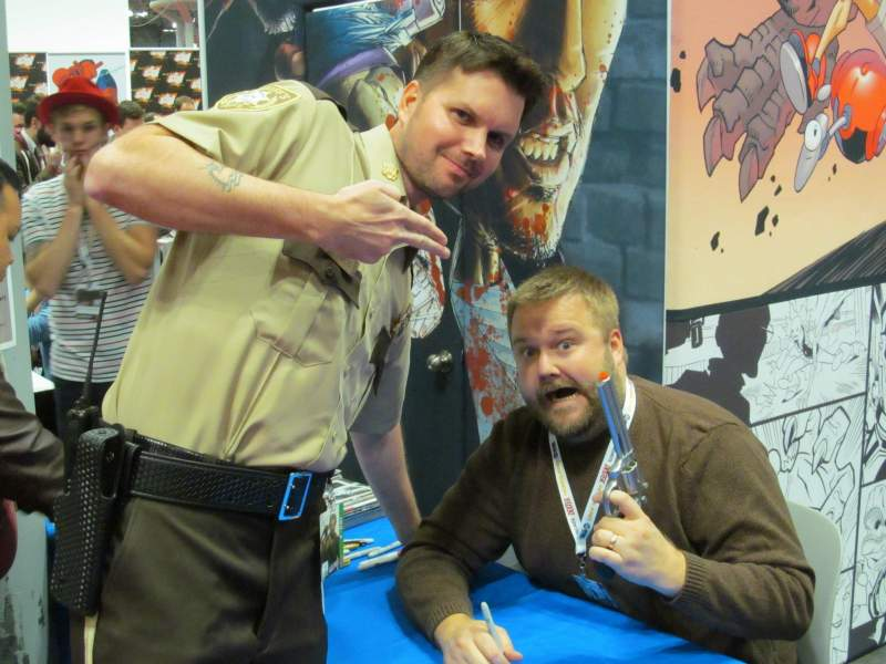 The creator of the Walking Dead Robert Kirkman