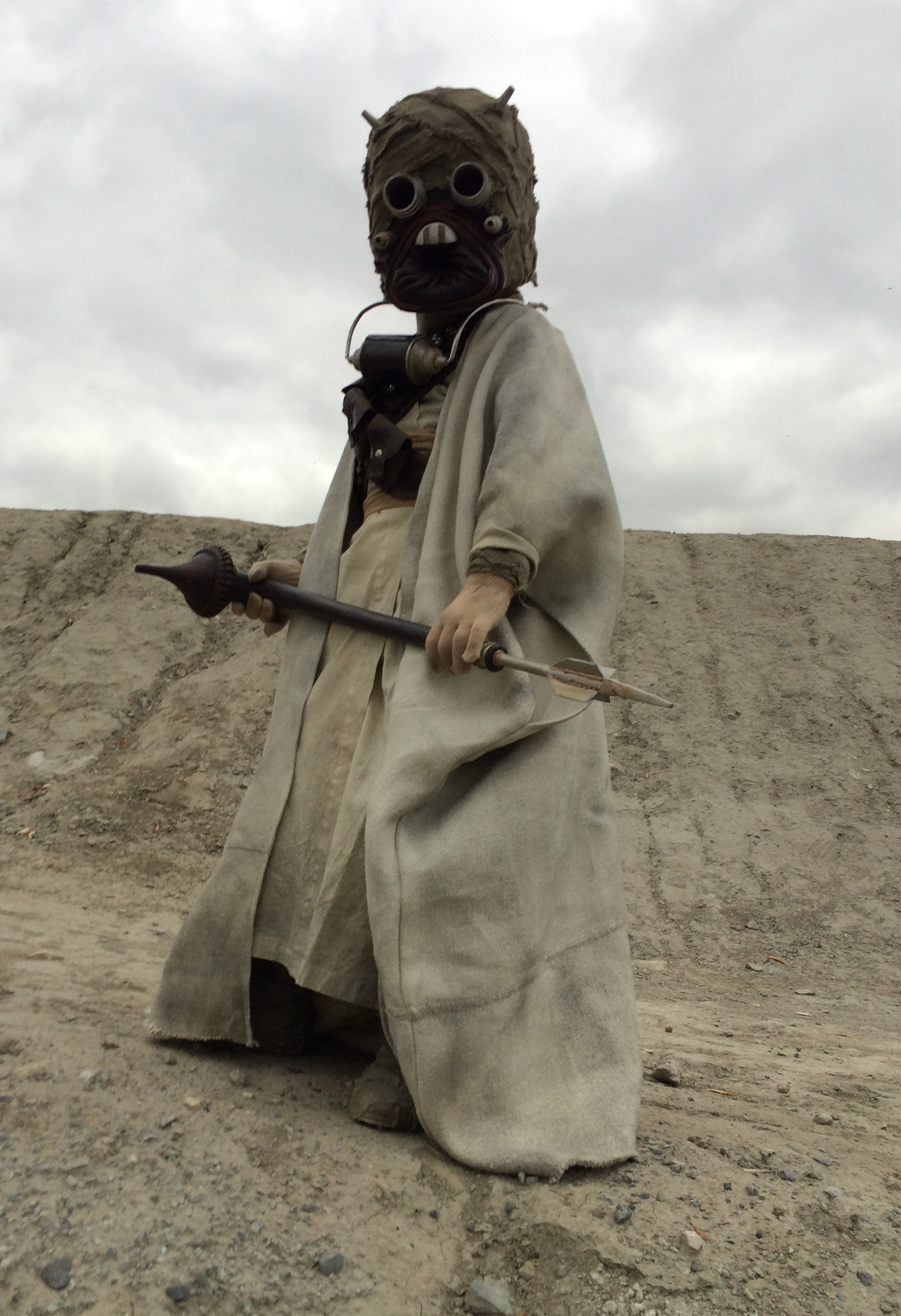 Tusken Raider costume for my 7 year old son - 2014 Halloween Costume Contes