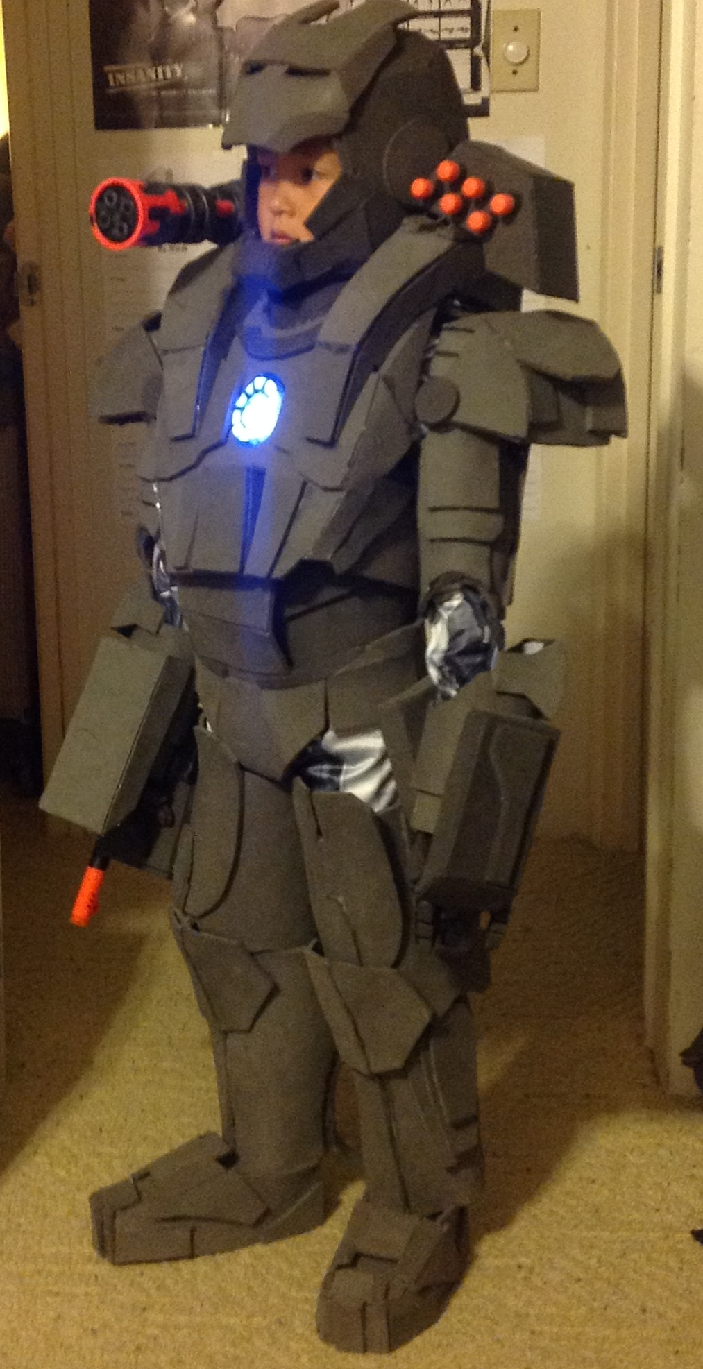 Tyson's War Machine Foam Costume