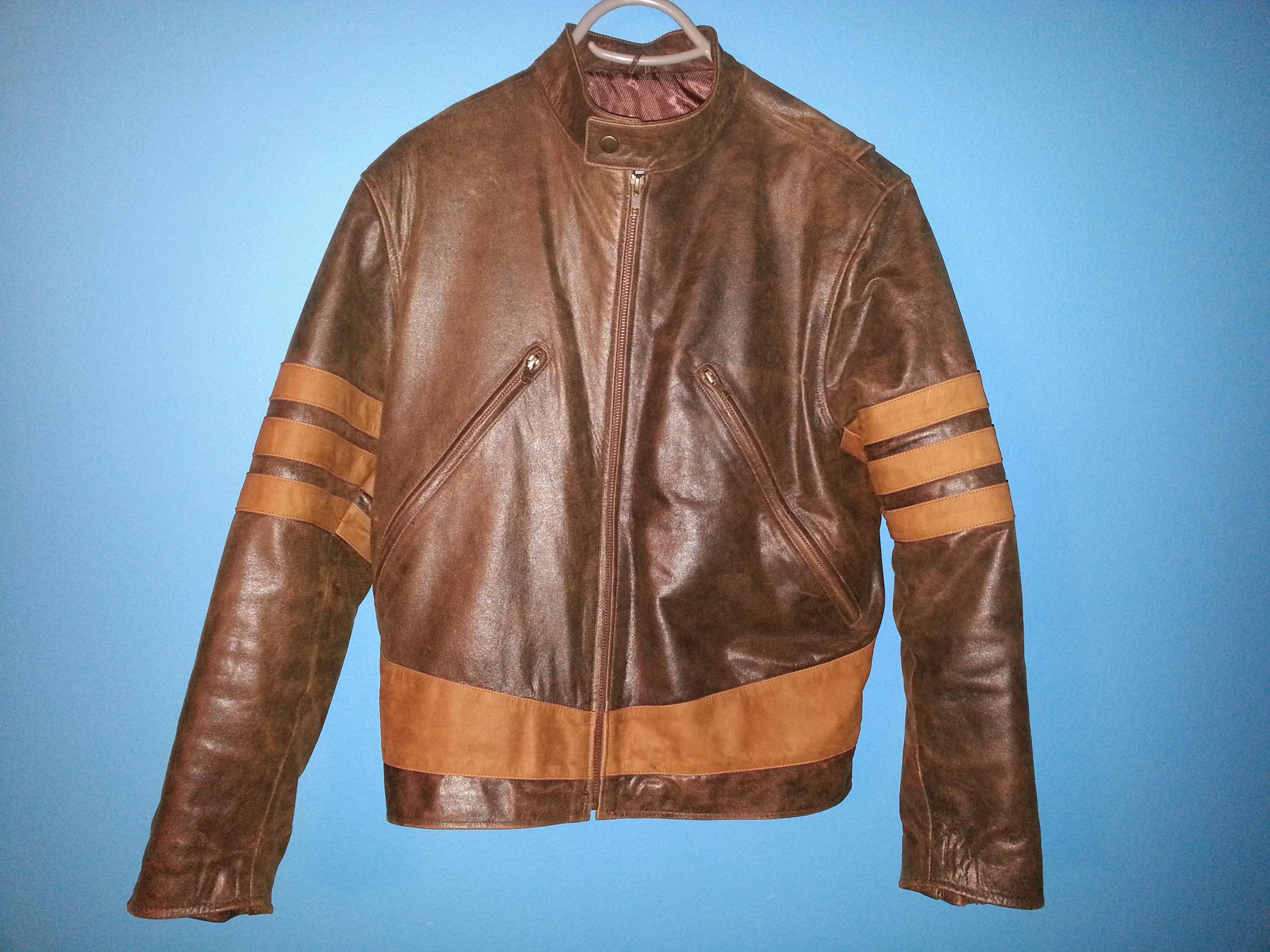X-Men Wolverine Jacket by Heron Leather